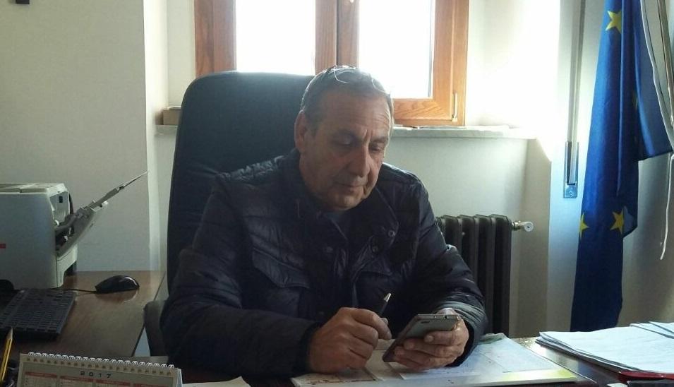 Il sindaco Mario Barbieri