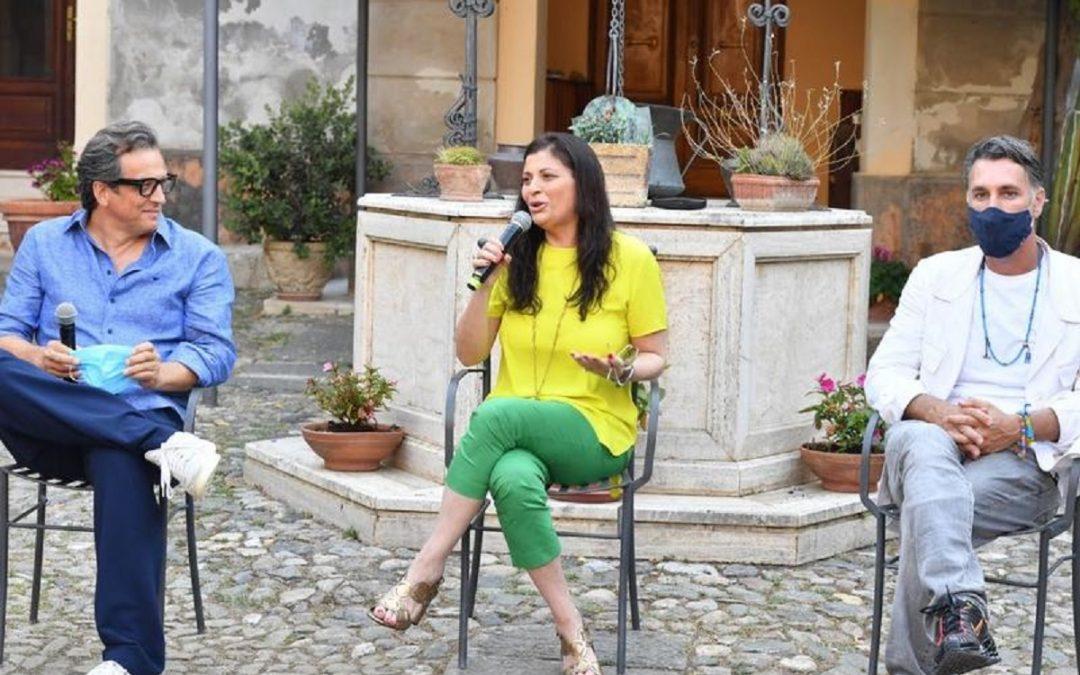 Gabriele Muccino con Jole Santelli e Raoul Bova