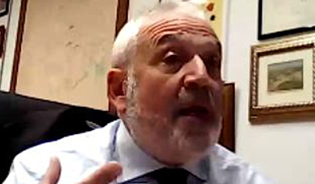 Il professore Paolo Veltri