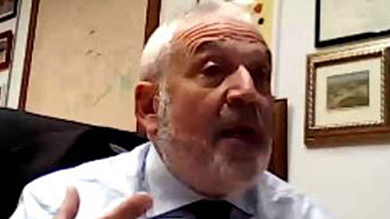 """""""L'ingegnere? Non vive solo di tecnologia""""  Il commiato dall'Unical del prof. Paolo Veltri"""