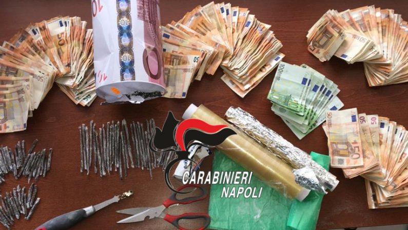 Pozzuoli, località Monteruscello: Perquisizioni dei carabinieri, droga nascosta sotto una statua di culto