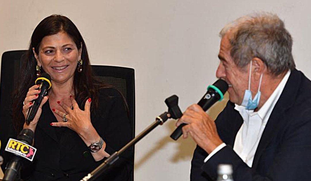 Giovanni Minoli e Jole Santelli