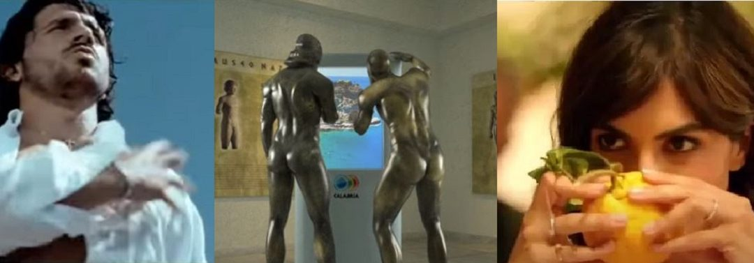 Gattuso, i Bronzi e Rocìo Munoz Morales nei rispettivi spot