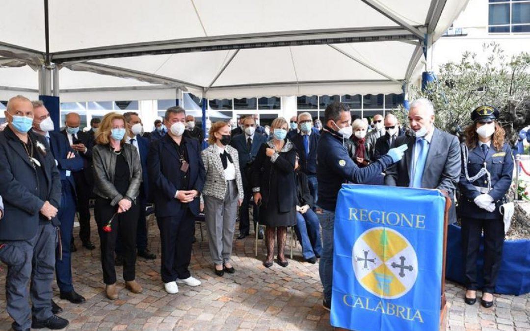 L'intervento del presidente del consiglio regionale Domenico Tallini