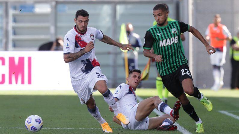 Crotone ko anche col Sassuolo: terza sconfitta in tre partite per Stroppa