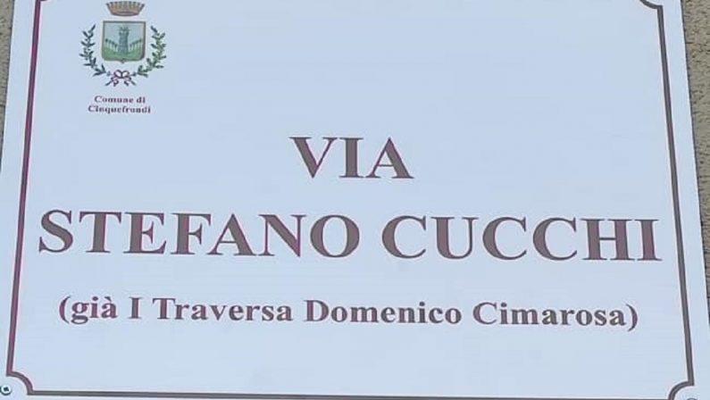 Reggio Calabria, il Comune di Cinquefrondi dedica una strada a Stefano Cucchi
