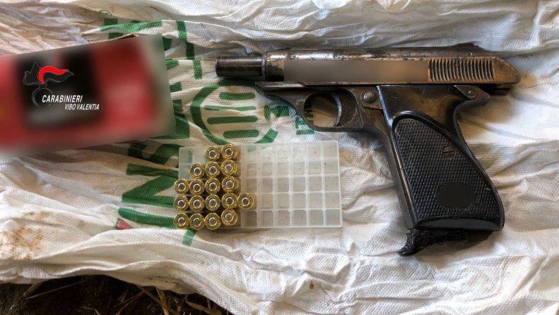 Sequestro di armi nel Vibonese, arrestati padre e figlio