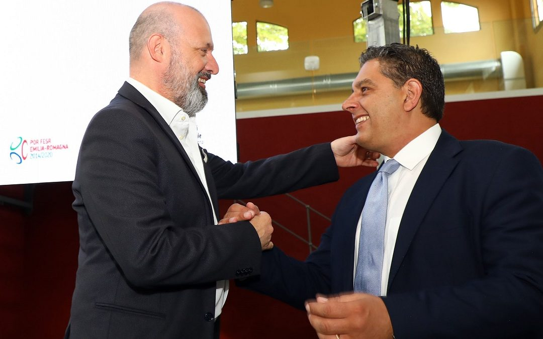 Stefano Bonaccini e Giovanni Toti