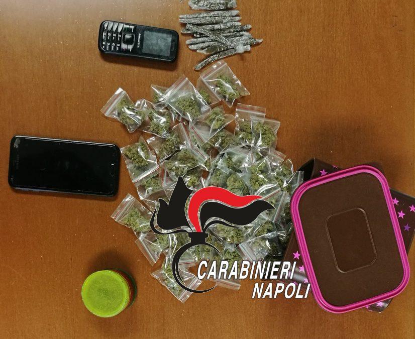 Casoria: Controlli anti-covid dei Carabinieri senza dimenticare il contrasto allo spaccio di droga e all'illegalità diffusa