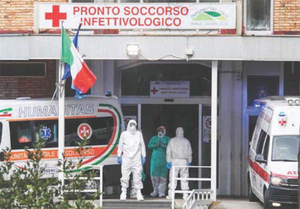 Coronavirus: Stop ai ricoveri programmati