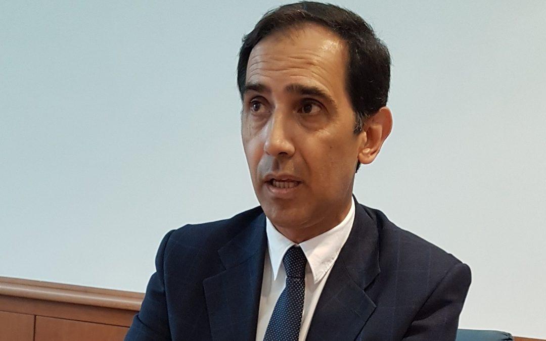 Il sindaco di Castrolibero Giovanni Greco