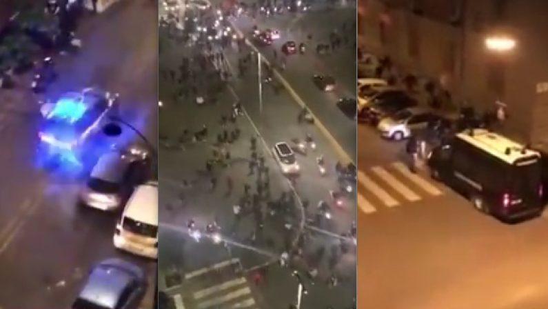 Napoli, notte della guerriglia contro il lockdown