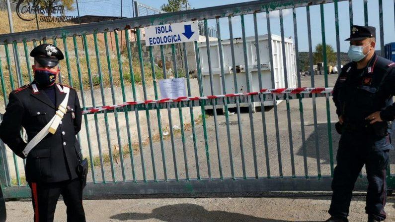 Campana (Cosenza): sequestrata la discarica comunale e denunciato il sindaco
