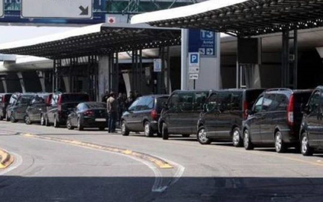 Le vetture Ncc all'aeroporto di Fiumicino