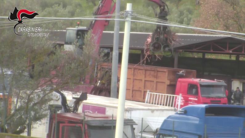 Traffico illecito di rifiuti, riciclaggio e ricettazione: arresti e sequestri nel Cosentino - I NOMI
