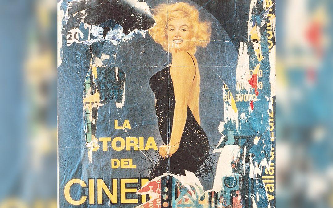 "Mimmo Rotella, ""La derniére Marilyn"" (1966)"