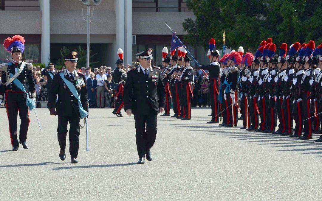 Una manifestazione nella Scuola allievi Carabinieri di Reggio Calabria