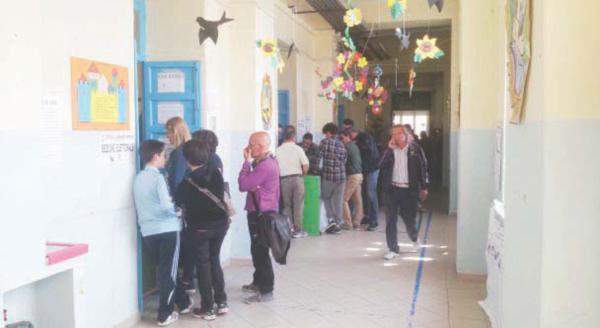 Voto comunale ad Ariano Irpino: andamento lento
