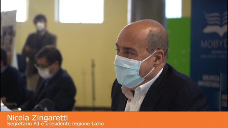 """Mes, Zingaretti """"Evitare polemiche politiche"""""""