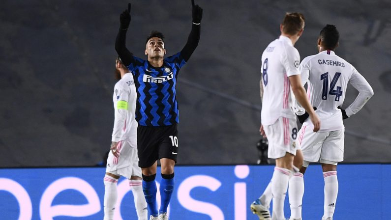 Champions League: all'Inter non bastano Lautaro e Perisic, il Real Madrid vince 3-2