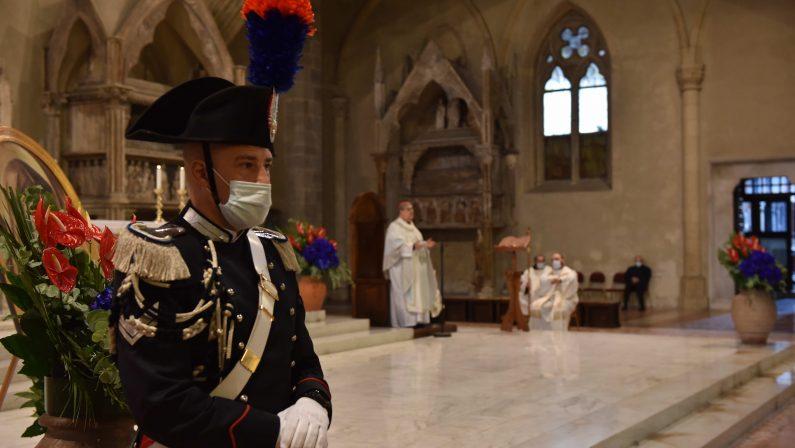 Virgo Fidelis, il Cardinale Sepe celebra la Patrona dell'Arma dei Carabinieri, la Santa Messa nella Basilica di Santa Chiara
