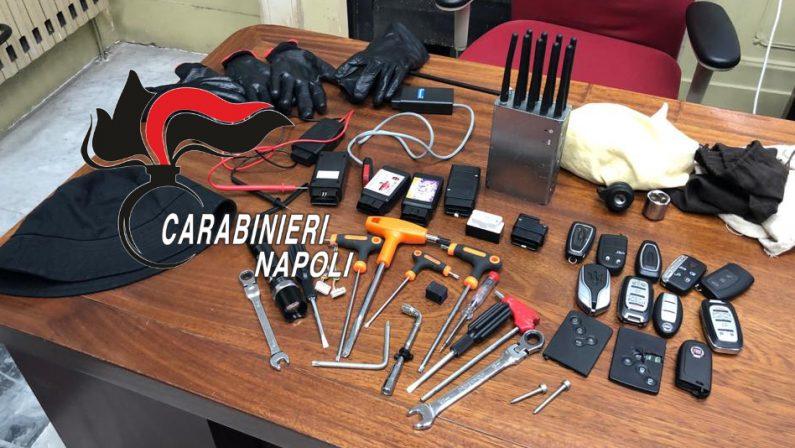 Smantellata un'organizzazione specializzata nei furti di auto di lusso, 7 persone arrestate