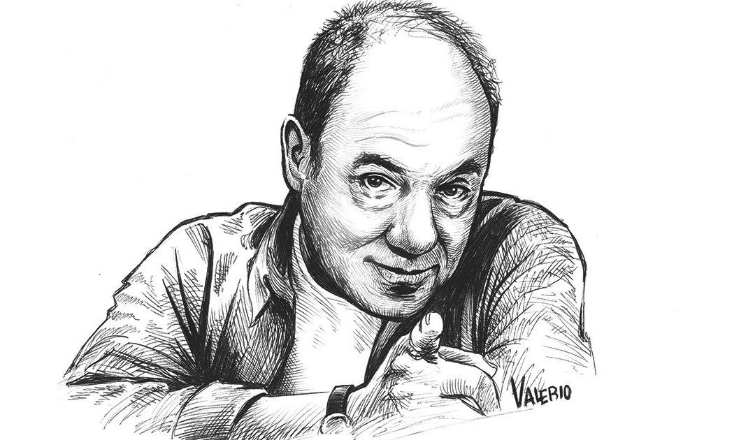 Carlo Verdone in un'illustrazione di Valerio De Cristofaro