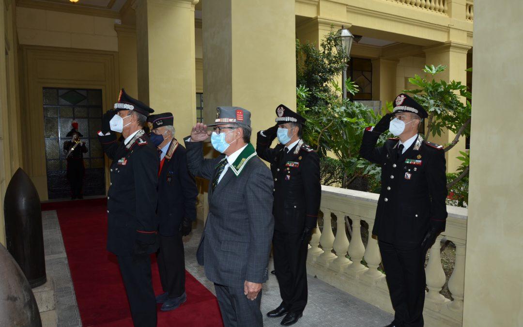 NAPOLI: I Carabinieri onorano la memoria dei defunti. deposta corona di alloro al sacrario militare
