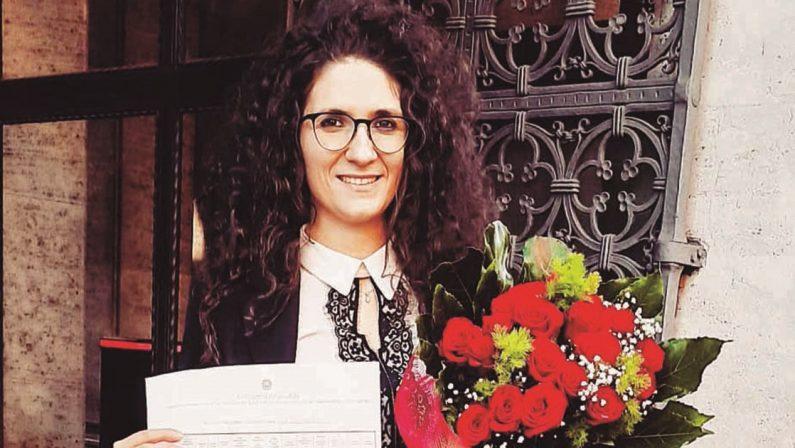 Chiara Ierardo, a 27 anni è il primo magistrato di cui si fregia il piccolo borgo di Acquaro