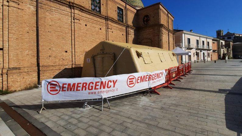 Coronavirus in Calabria, Emergency apre un servizio tamponi a Polistena