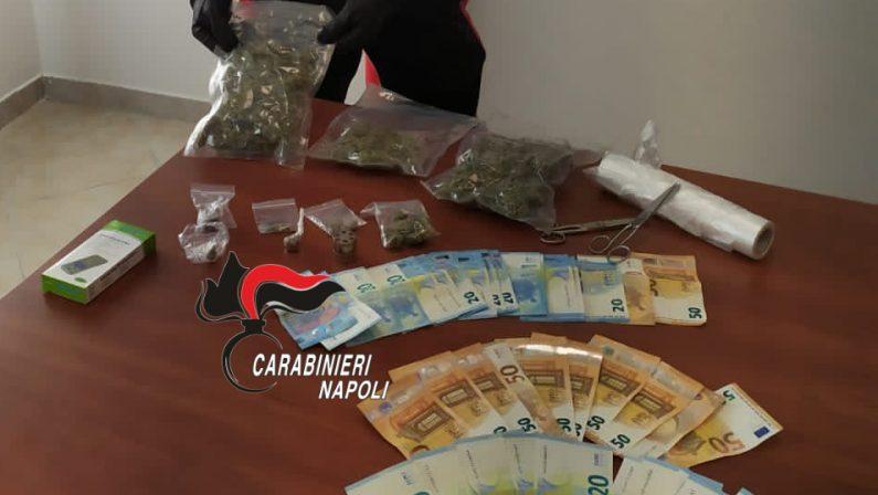 Ercolano: Carabinieri arrestano 23enne pusher