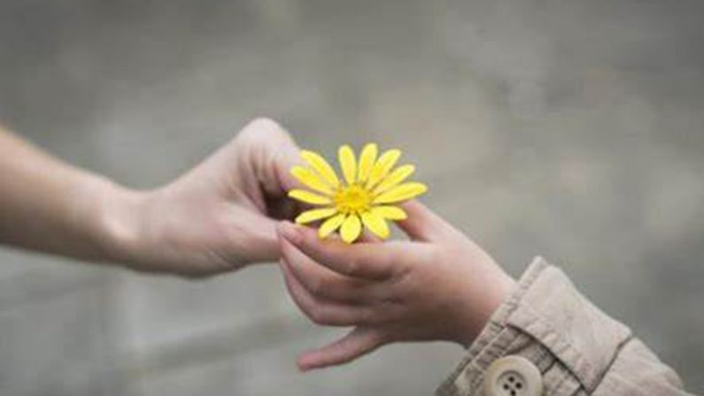 La gentilezza nella stanza degli abbracci