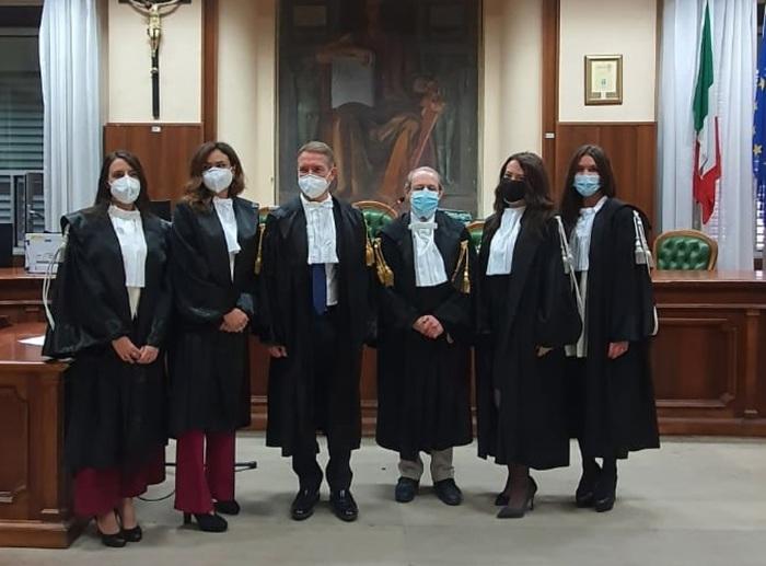 Giustizia: tre nuovi giudici ed un pm al Tribunale di Vibo, oggi il giuramento
