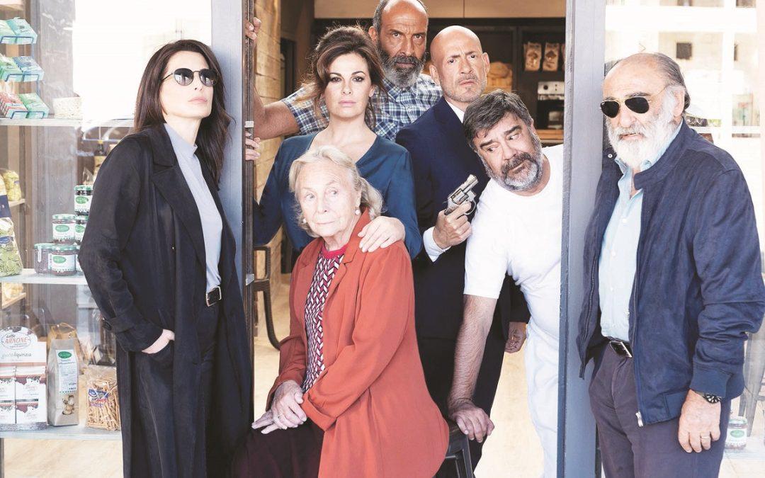 """Eleonora Ivone insieme al cast del suo film """"Ostaggi"""""""