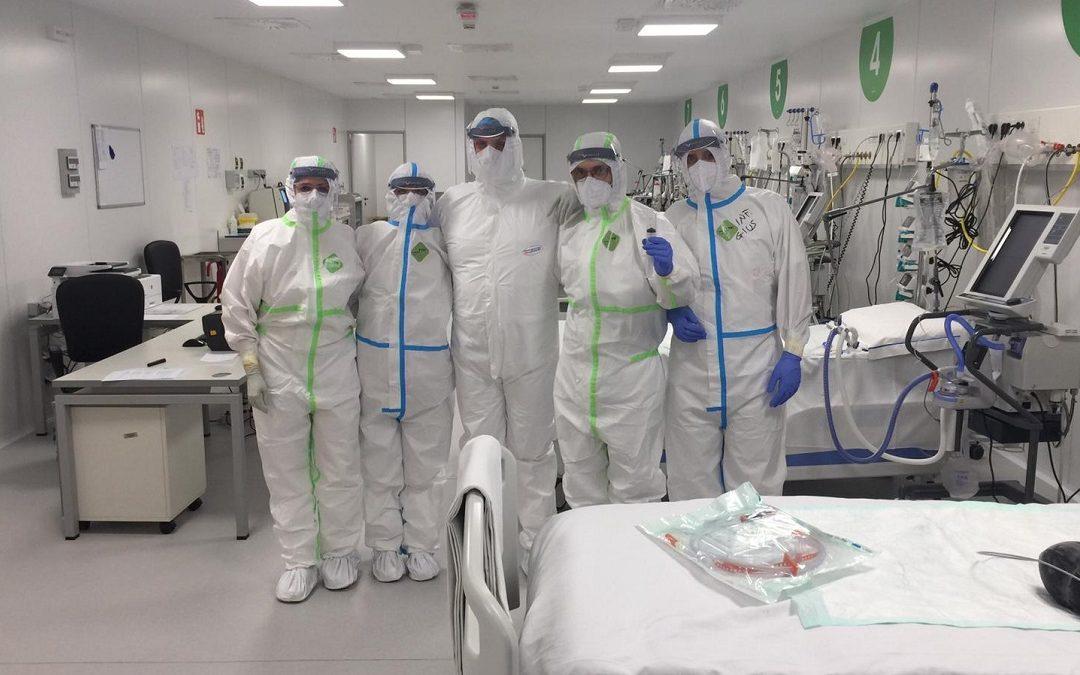 Personale medico dell'ospedale Fiera di Milano