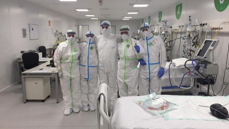 Coronavirus, ancora contagi al San Carlo. A Potenza multato un calciatore