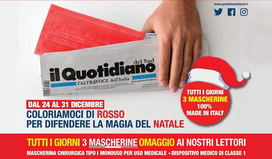 Dal 5 novembre con Il Quotidiano del Sud l'ALTRAVOCE dell'ITALIA l'edicola sarà primo luogo di salute per mente e corpo