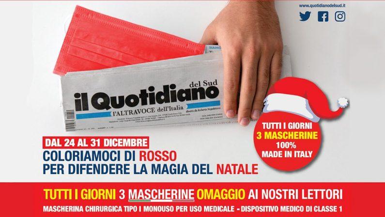 Con Il Quotidiano del Sud l'ALTRAVOCE dell'ITALIA  L'edicola sarà primo luogo di salute per mente e corpo