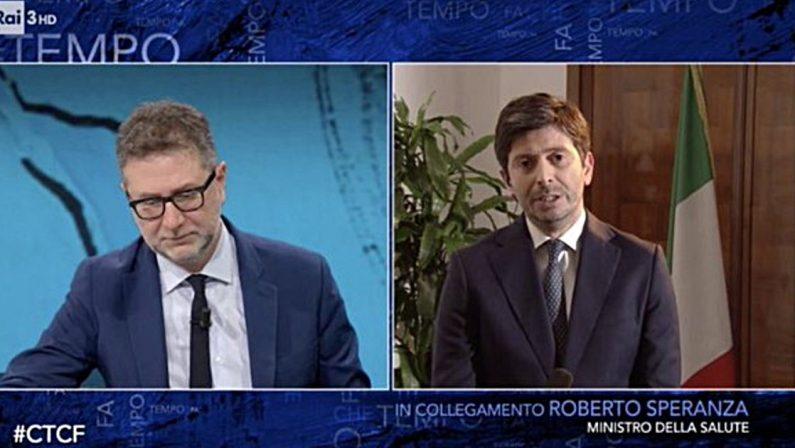 Sanità Calabria, Speranza allontana l'ipotesi Tronca e aggiunge: Serve una squadra, non basterà una persona»