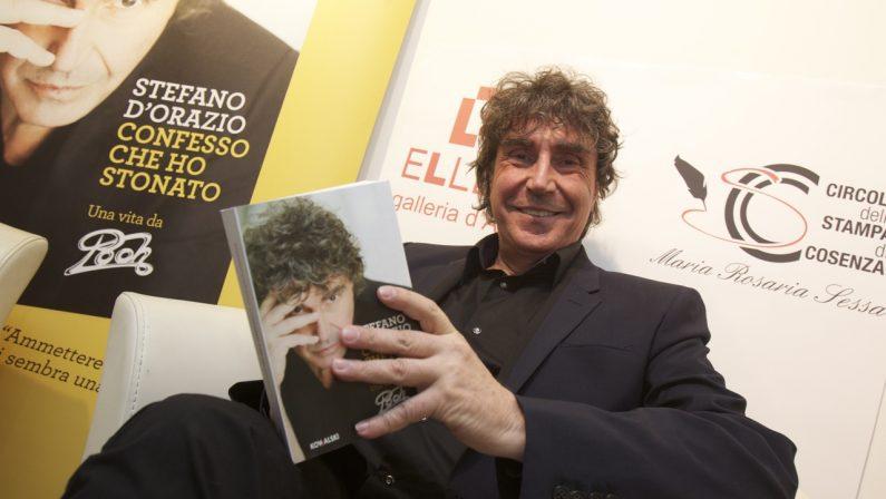 Stonature (rivelate) di Stefano D'Orazio: quella biografia presentata a Cosenza nel 2013