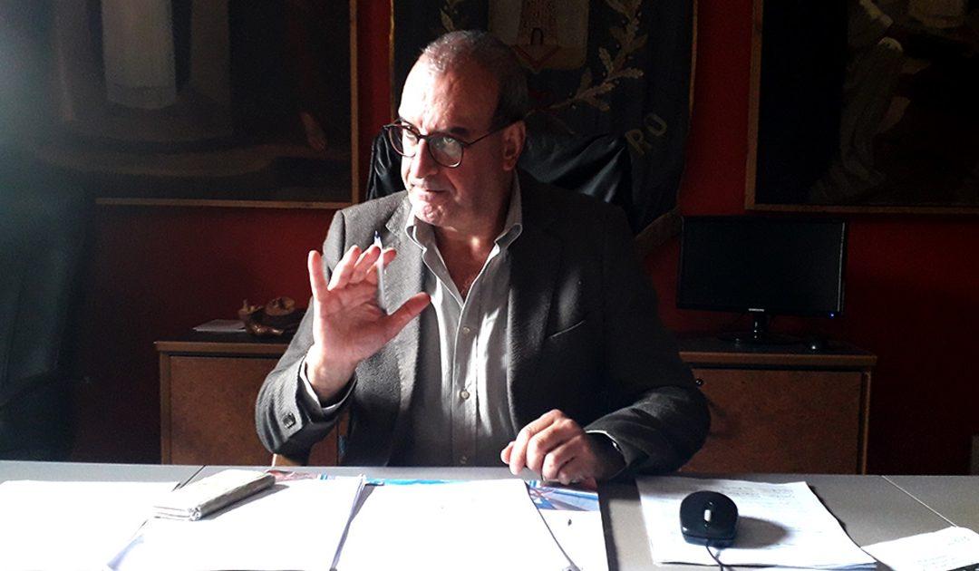 Il sindaco Vincenzo bartone