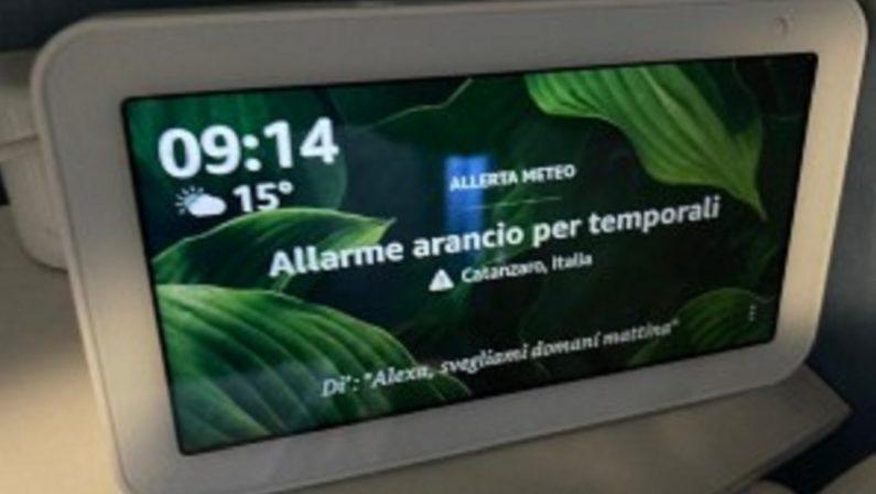 Arpacal contatta Amazon: «Alexa, puoi correggere le informazioni meteo?»