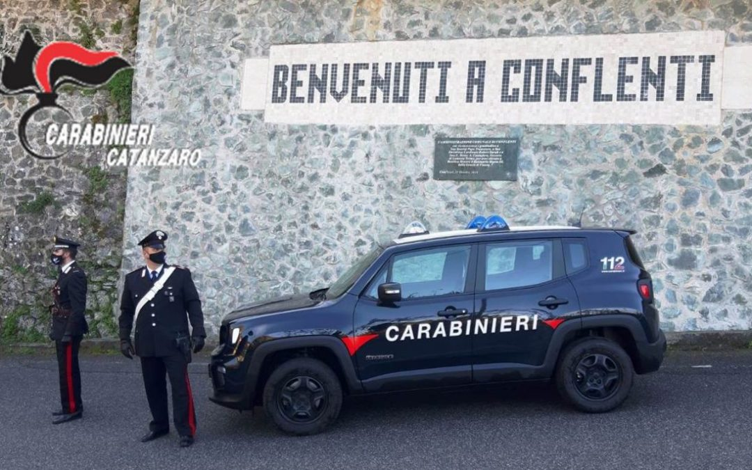 I controlli dei carabinieri a Conflenti