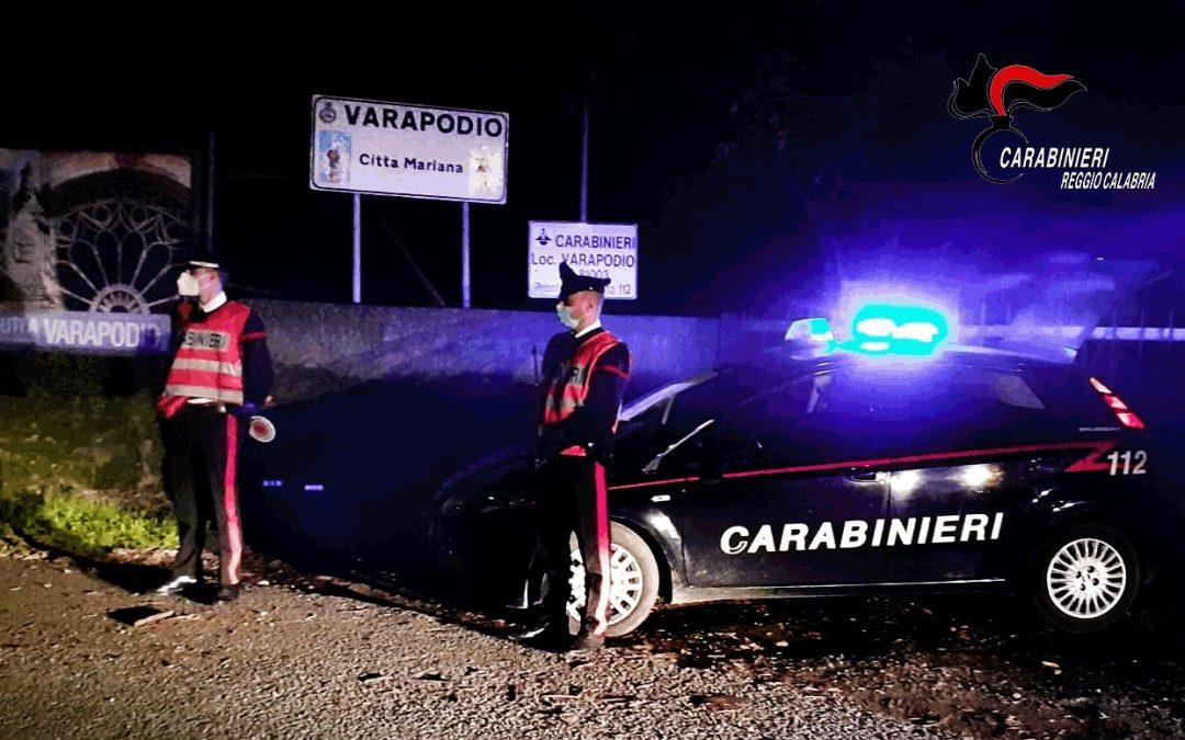 I carabinieri di Varapodio