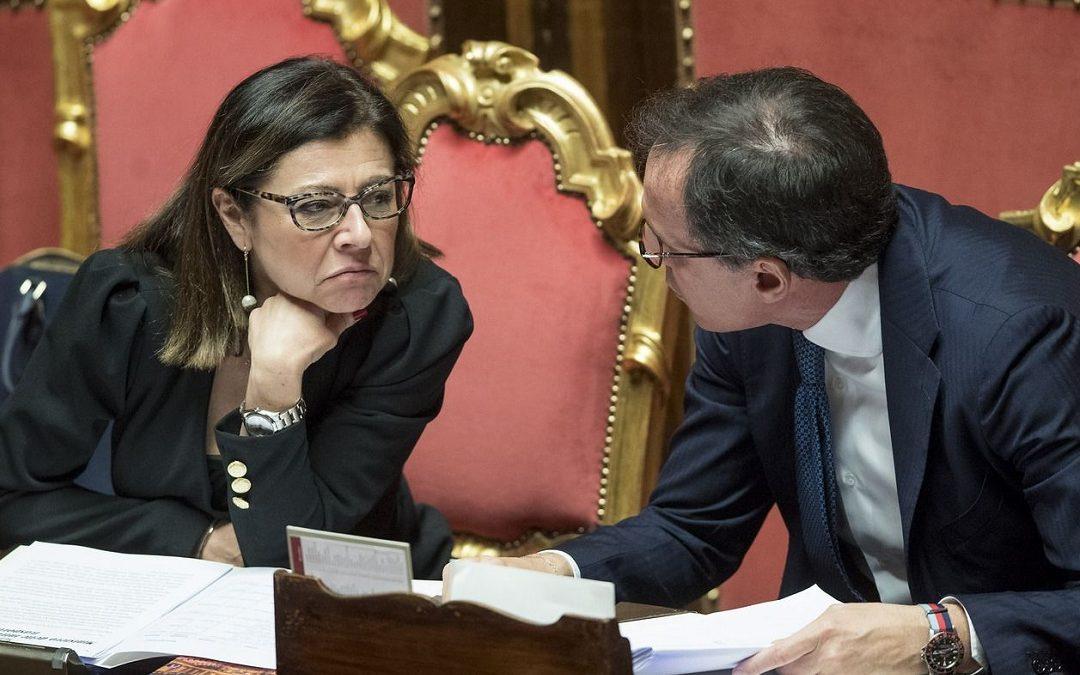 I ministri Paola De Micheli e Francesco Boccia