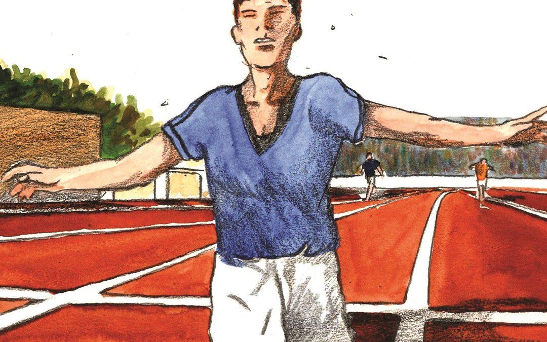 Ugo Frigerio, illustrazione di Roberto Melis