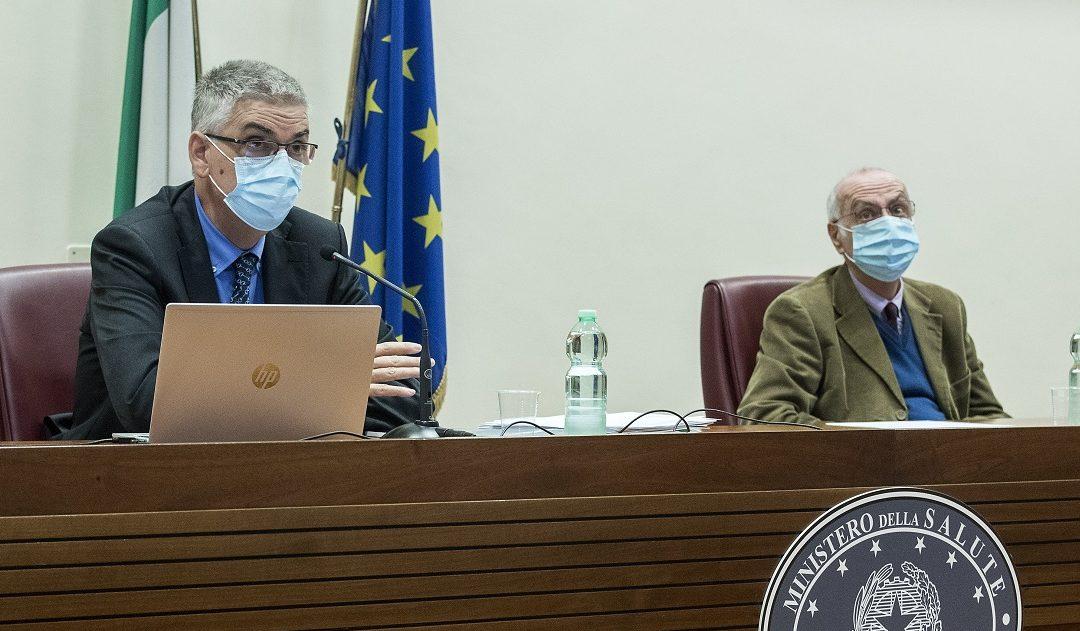 Silvio Brusaferro e Giovanni Rezza