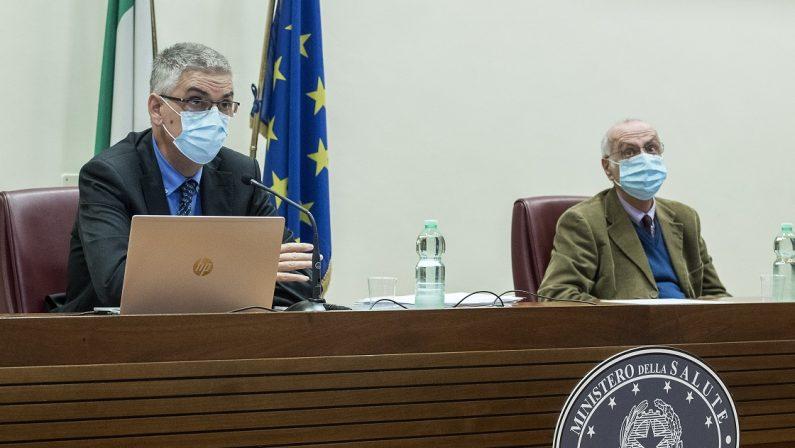 Rezza spiega la zona rossa in Calabria: «Rt molto alto e importante deficit delle strutture sanitarie»