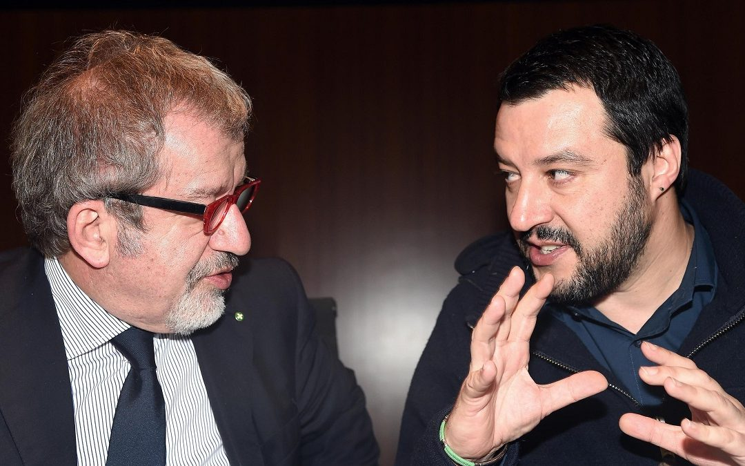 Roberto Maroni e Matteo Salvini