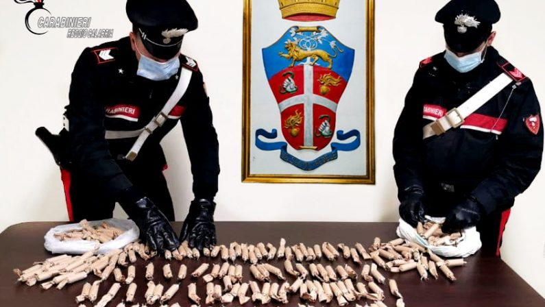 In auto con 200 candelotti pirotecnici artigianali, denunciati due giovani nel Reggino